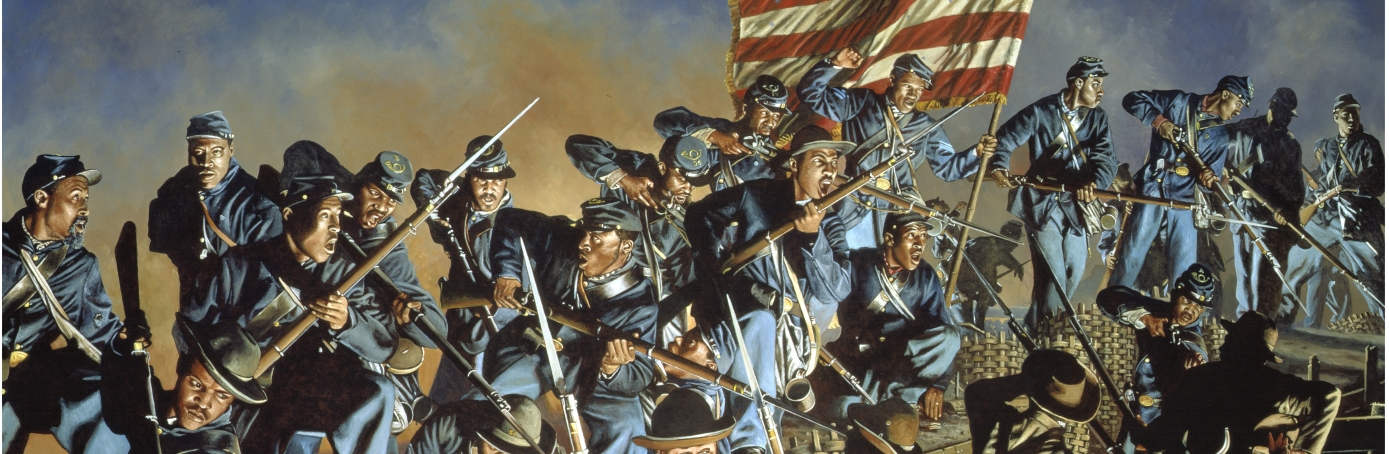 """I Knew What I was Fighting For"""" Black Soldiers in the Civil"""
