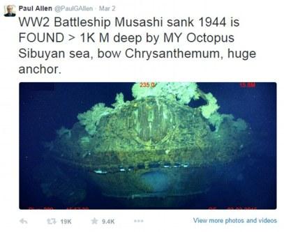 musashi wreck
