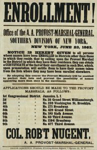 Enrollment-Poster-in-New-York-June-23-1863