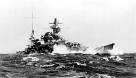 Kriegsmarine-Scharnhorst-class-battlecruisers-battleship-KMS-Scharnhorst-during-operation-Berlin-04