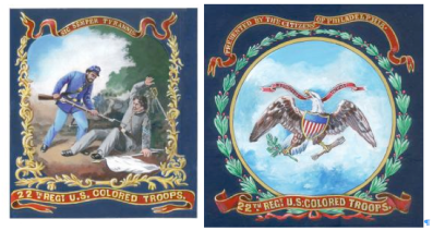 22nd-usct-flags