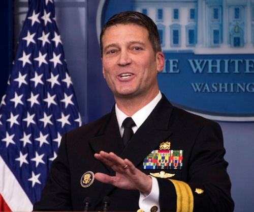 Dr. Ronny Jackson Briefing